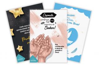 11 Mensagens para um cartão aos dizimistas